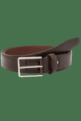 Mens Leather Single Side Casual Belt