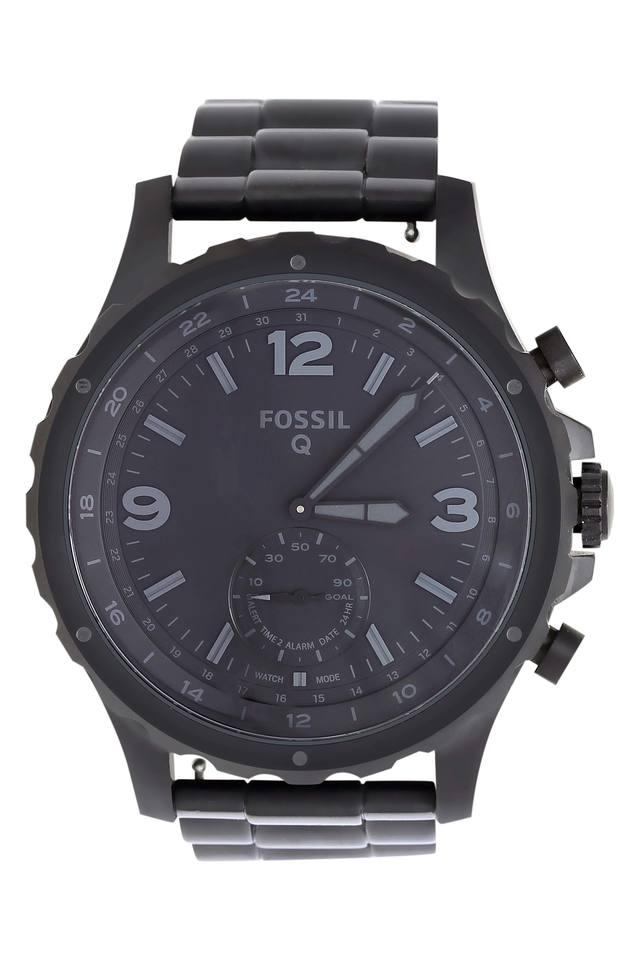 Mens Hybrid Analogue Stainless Steel Smart Watch