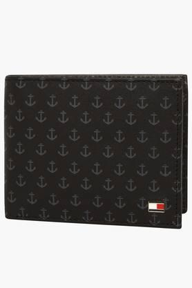 TOMMY HILFIGERMens Benton Leather 1 Fold Wallet