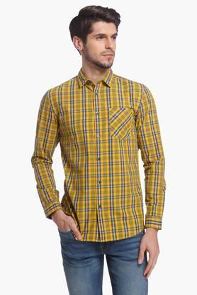 Jack And Jones Formal Shirts (Men's) - Mens Slim Fit Check Shirt
