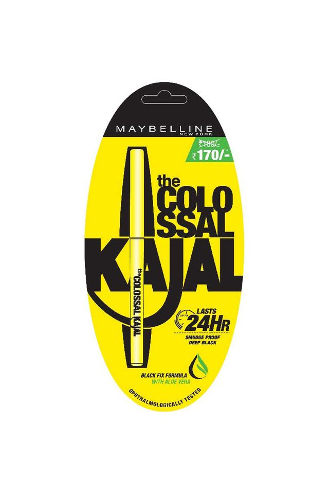 New York The Colossal Kajal 24Hour Smudge Proof - 0.35 Gm