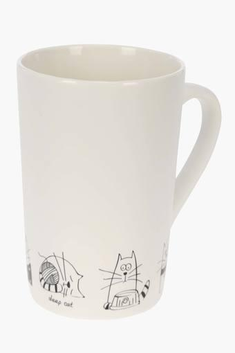 Cylindrical Printed Mug - 375ml