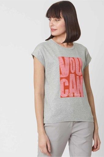 VERO MODA -  GreyT-Shirts - Main
