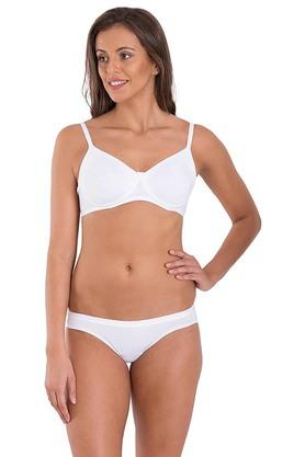 Women Cotton Non Wired Non Padded Bra