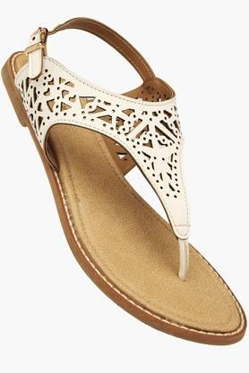 HAUTE CURRY Womens Casual Ankle Buckle Closure Flat Sandal - 201506066