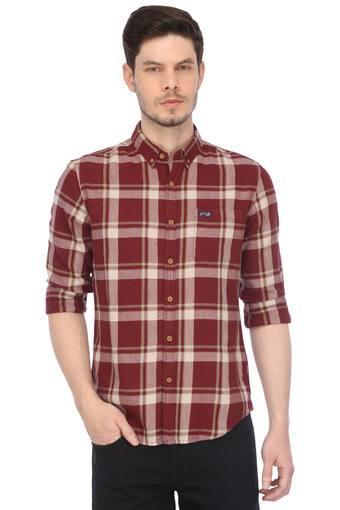 U.S. POLO ASSN. DENIM -  MaroonCasual Shirts - Main