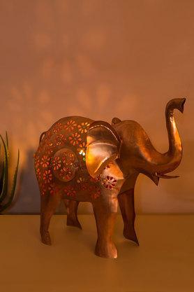 Tejas Cutwork Large Elephant Brass Figurine