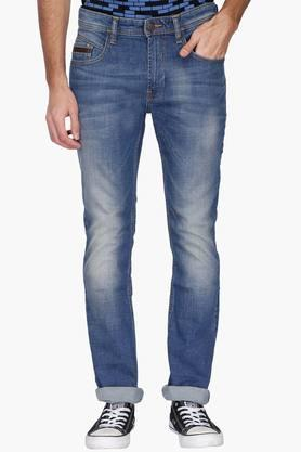 Vdot Jeans (Men's) - Mens 5 Pocket Heavy Wash Jeans