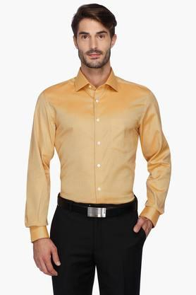 Zodiac Formal Shirts (Men's) - Mens Solid Regular Collar Shirt