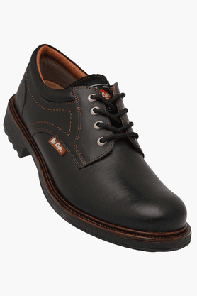 LEE COOPERMens Leather Lace Up Casual Shoe