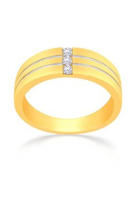 MALABAR GOLD AND DIAMONDS Mens Mine Diamond Ring KRJRM00100S Size 21