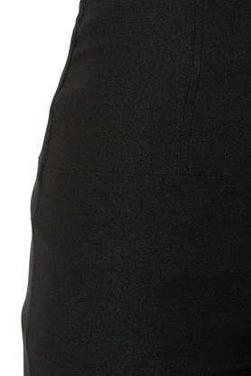 Womens Relaxed Fit High Waist Coated Jeggings