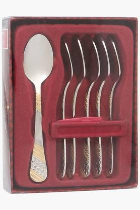 FNS Imperio Embossed Coffee Spoon Set Of 6