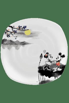 Mickey Watermark - Dinner Plate