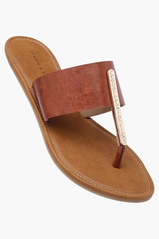 Womens Daily Wear Slipon Flat Sandal