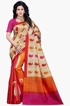 Women Bhagalpuri Art Silk Printed Saree - 202447152