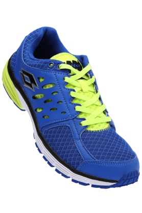 LOTTO Mens Royal Blue Santiago II Sports Running Shoe