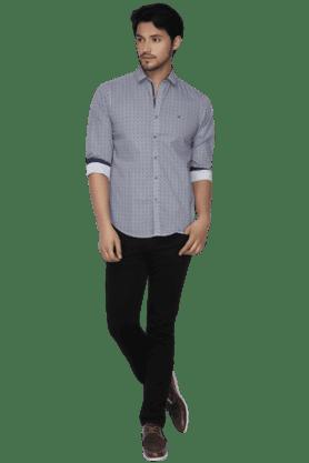 Mens Full Sleeves Slim Fit Casual Printed Shirt