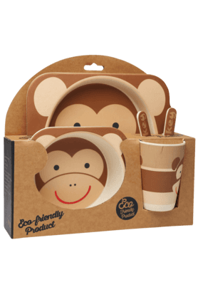 BACK TO EARTH Serving Set Monkey (Set Of 5)