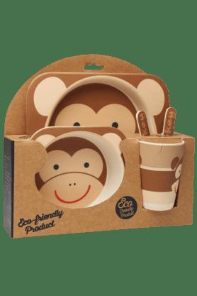 BACK TO EARTHServing Set Monkey (Set Of 5)