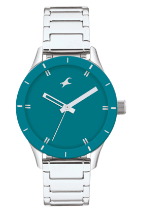 FASTRACK Ladies Watch With Silver Coloured Metallic Strap - 6078SM01