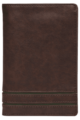 BAGGIT Mens Leather 1 Fold Wallet (Use Code FB15 To Get 15% Off On Purchase Of Rs.1200)