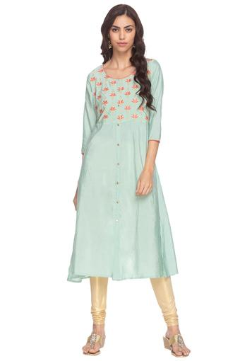 KASHISH -  Mint Kurtas - Main