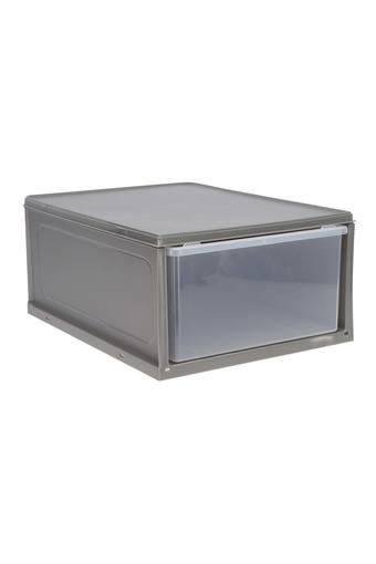 Rectangular Colour Block Slide In Storage Box