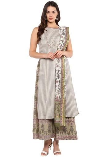 BIBA -  Multicolor Salwar & Churidar Suits - Main