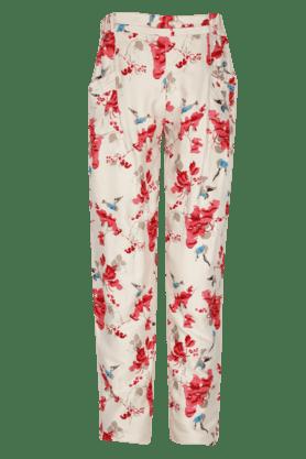 Girls Cotton Printed Pants