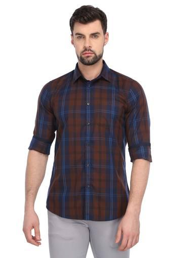 VAN HEUSEN SPORT -  Dark BrownCasual Shirts - Main