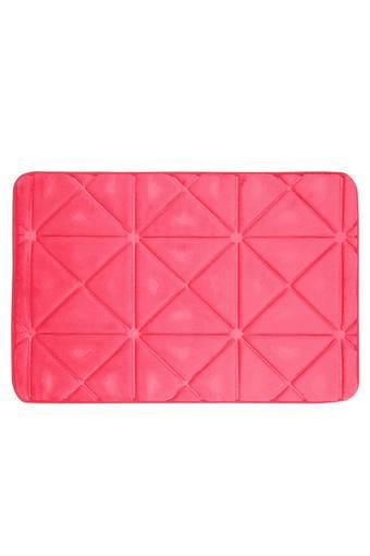 Rectangular Solid Memory Foam Brick Bath Mat