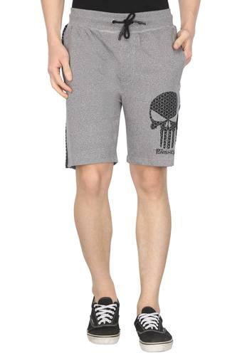 FREE AUTHORITY -  Grey Shorts - Main