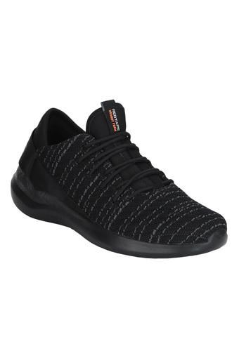 ATHLEISURE -  Black Sports Shoes - Main