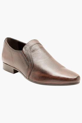 RED TAPE Mens Leather Slip On Formal Loafers  ... - 202389704