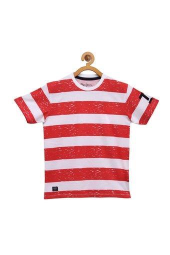 PEPE KIDS -  CoralT-Shirts - Main