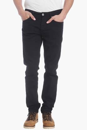 Jack And Jones Jeans (Men's) - Mens 5 Pocket Stretch Jeans (Mike Fit)