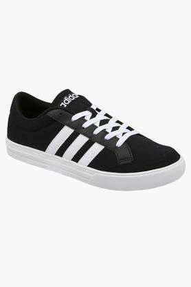 ADIDAS Mens Canvas Lace Up Sport Shoes  ... - 202177577