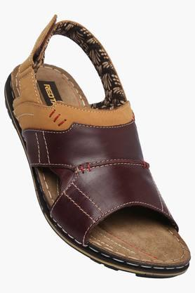 RED TAPE Mens Velcro Closure Casual Sandal