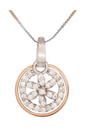 WAMAN HARI PETHEWomens Aabha Collections Diamond Pendant Set DLTD15099988