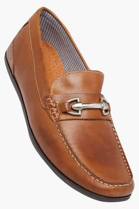 VENTURINI Mens Leather Slipon Loafers - 202336634