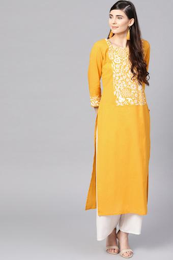 VARANGA -  Yellow Kurtas - Main