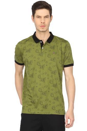 LOUIS PHILIPPE SPORTS -  OliveT-shirts - Main
