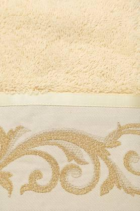 Embroidered Textured Hand Towel