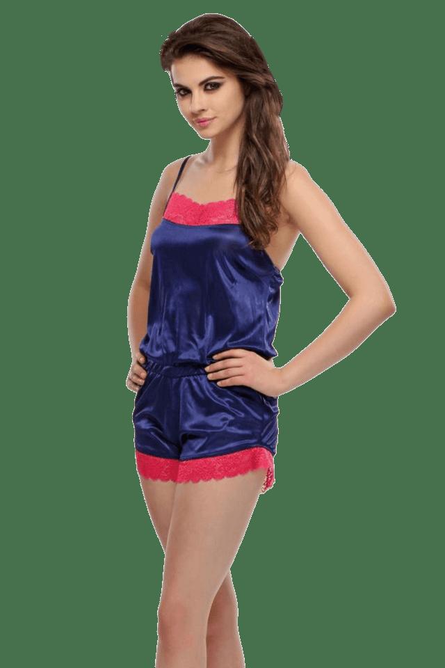 Women Fashion Satin Jumpsuit
