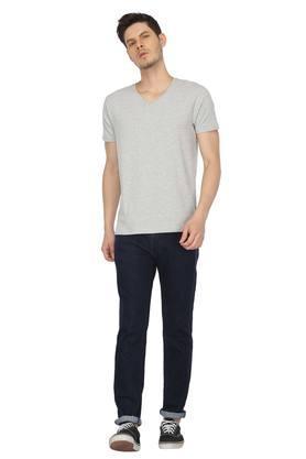 STOP - Grey MelangeT-Shirts & Polos - 3