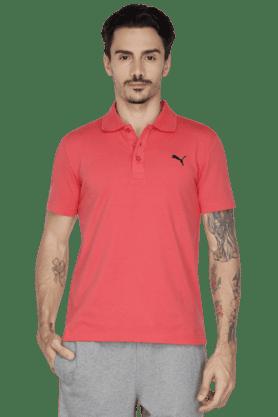 PUMAMens Short Sleeve Solid Polo T-Shirt - 200835835