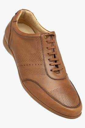 BLACKBERRYS Mens Leather Lace Up Semi Formal Shoes