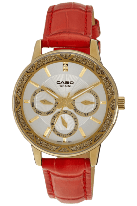 Womens Chronograph Round Dial Watch-A910