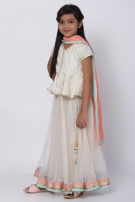 BIBA GIRLS - Off White Indianwear - 2